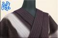 夏着物 小千谷ちぢみ 楊柳 オーダー仕立て付き 杉山織物 濃紫 ◆男女兼用◆