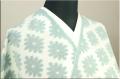 久留米絣 オーダー仕立て付き  花格子 緑 #2090