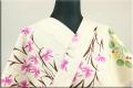 源氏物語 浴衣(ゆかた) オーダー仕立て付き サギソウ 絵39 女性にオススメ