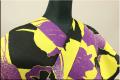 JUNKO KOSHINO浴衣(ゆかた) オーダー仕立て付き チューリップ 紫黄 遊202 女性にオススメ