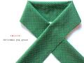 【木綿のお半衿】洗えるプチプラ、お洒落上手な木綿のお半衿-christmas pop green(送料80円)