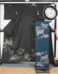 龍村特注訪問着と龍村平蔵製袋帯
