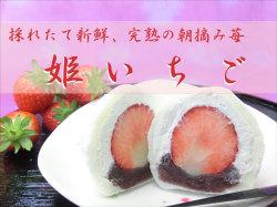 完熟朝摘み苺「姫いちご」