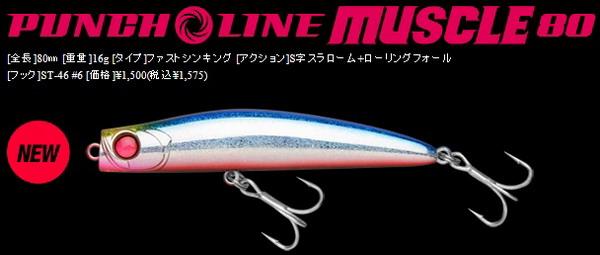 アピア パンチラインマッスル80