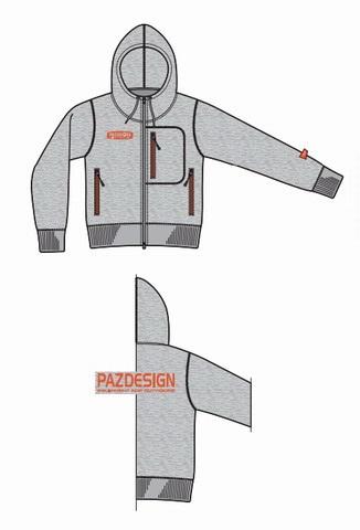 パズデザイン ウインドガードパーカSJK-008