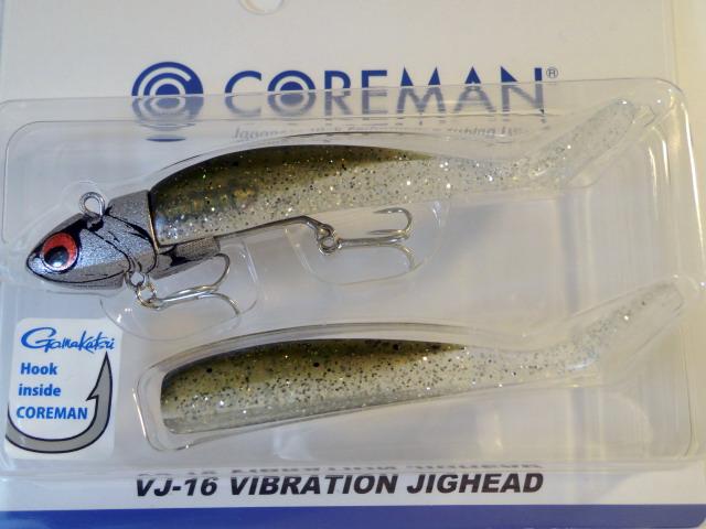 コアマン VJ-16 VIBRATION JIGHEAD(VJ-16 バイブレーションジグヘッド)