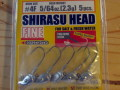 ����������SHIRASU HEAD FINE 2.3g