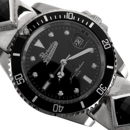 Artemis Classic(アルテミスクラシック) ACクォーツシルバーブレスウォッチ/PAVE・ライオンクリップ/腕時計 AC-ACSVWB0002