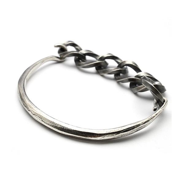 basis(ベイシス) combination chain bangle コンビネーションチェーンバングル bab005