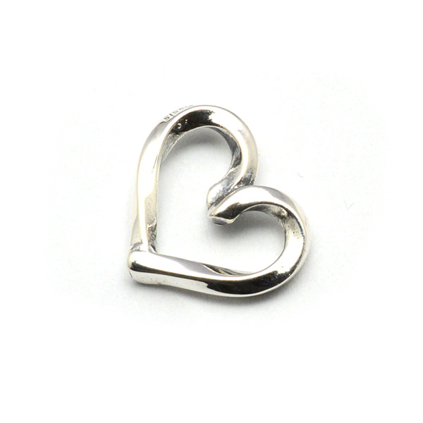 basis(ベイシス)bap020 spiral heart スパイラルハートペンダント