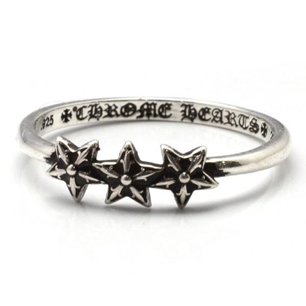 CHROME HEARTS(クロムハーツ)Ring-Bubblegum-3Star バブルガムリング3スター