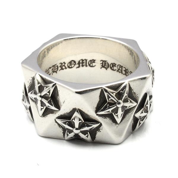 CHROME HEARTS(クロムハーツ)Pentagon 5point Star Ring ペンタゴン5ポイントスターリング