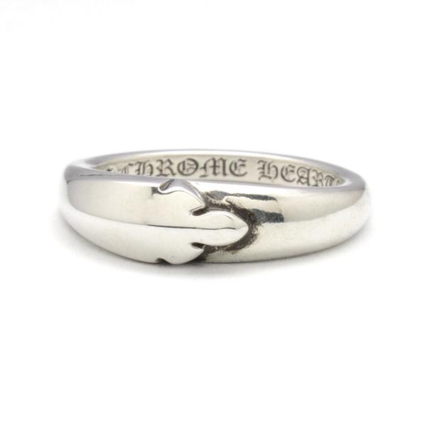 CHROME HEARTS(クロムハーツ)Ring-BBYCLSC/FLRKNEE ベイビークラシックリング フレアニー
