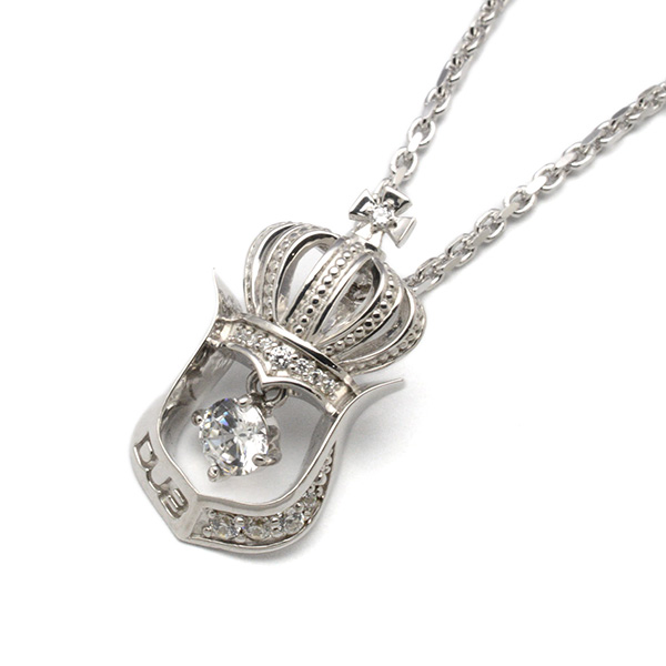 DUB Collection(ダブコレクション)Crown Horseshoe Necklace クラウンホースシューネックレス DUBj-248-2