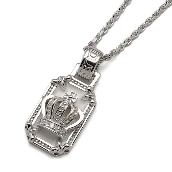 DUB Collection(ダブコレクション)Crown frame Necklace  クラウンフレームネックレス  DUBj-317-2