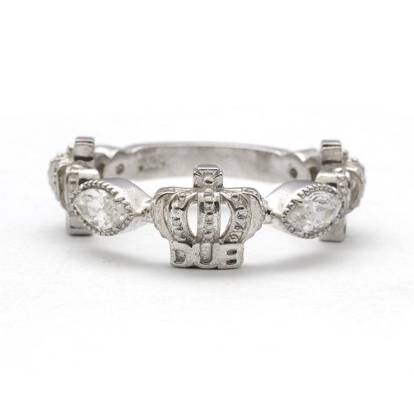 DUB collection(ダブコレクション)ダブコレクション】Classical Crown Ring クラシカルクラウンリング DUBj-267-2