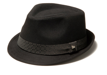 EK The Trilby Cotton Twill ( Black ) / EK Jacquard Satin Band ( Black )【ハット】1118696