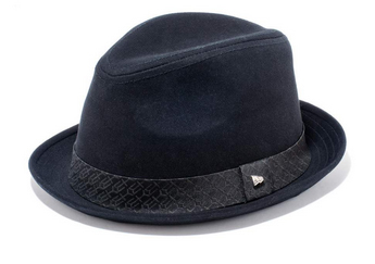 EK The Fedora Cotton Twill ( Black ) / EK Jacquard Satin Band ( Black )【ハット】11120119