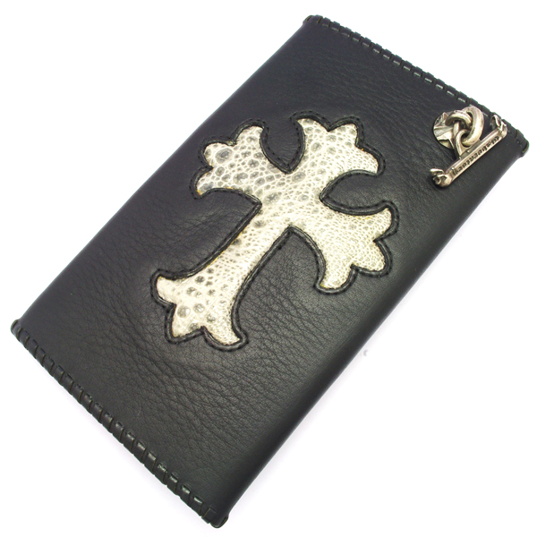 Gaboratory(ガボラトリー) Buffalo skin with grey frog wallet (Cross) / 164