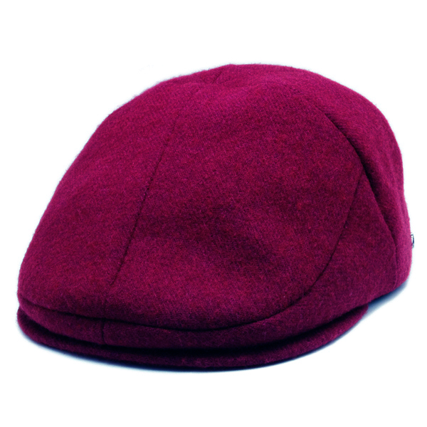 KNOX(ノックス) 【最高品質帽子】ウールサージハンチング(ワイン)912303