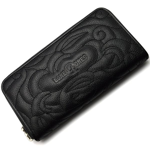 LONE ONES(ロンワンズ)Zipper Wallet Enbroiedry MFW-0013-e
