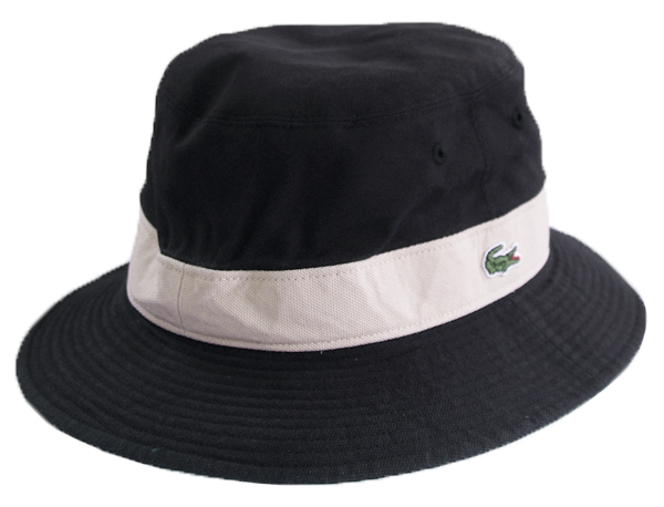 LACOSTE(ラコステ) リバーシブル ハット /黒(紺) L3481