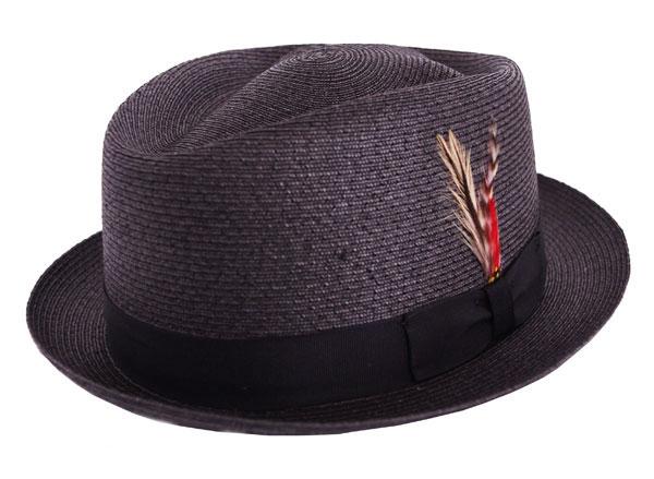 NEW YORK HAT(ニューヨークハット) ハット SEWN DIAMOND/ブラック 2325