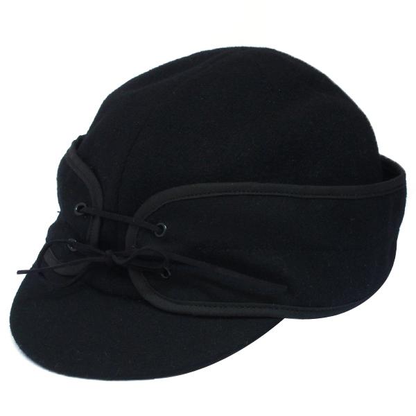 NEW YORK HAT(ニューヨークハット) キャップ WOOL SKI/ブラック 9119