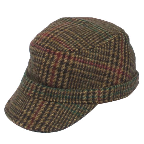 NEW YORK HAT(ニューヨークハット) キャップ PLAID WOOLRICH WALKER/ブラウン 9102