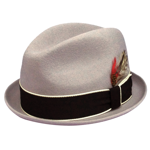 NEW YORK HAT(ニューヨークハット) ハット LOUIE/ライトグレー 5304