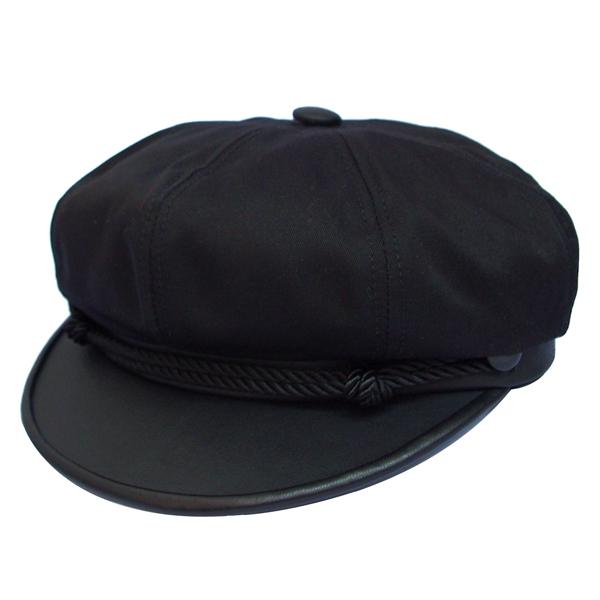 NEW YORK HAT(ニューヨークハット) キャップ CANVAS BRANDO /ブラック 6019