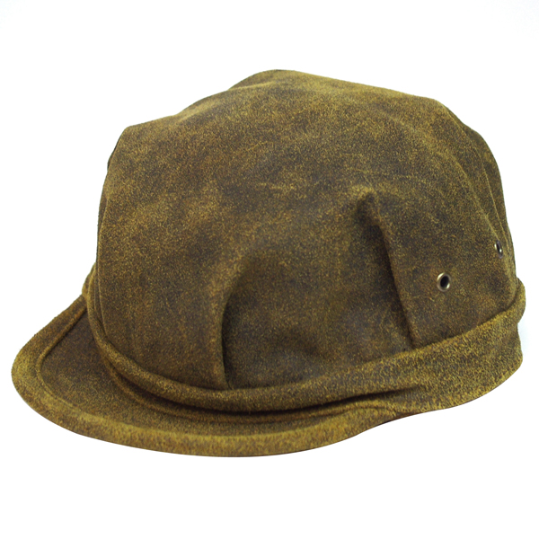 NEW YORK HAT(ニューヨークハット) キャップ ANTIQUE LEATHER ENGINEER /ブラウン 9324