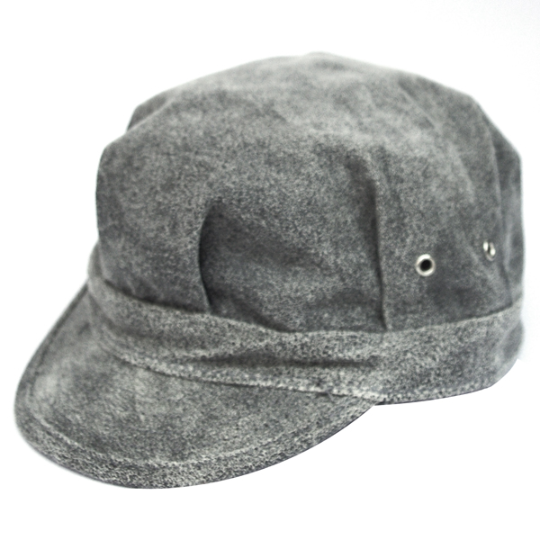 NEW YORK HAT(ニューヨークハット) キャップ ANTIQUE LEATHER ENGINEER /グレー 9324