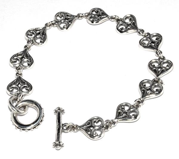 ROYAL ORDER(ロイヤルオーダー) スモールアレグラハートブレス Small Allegra Heart Bracelet SB219