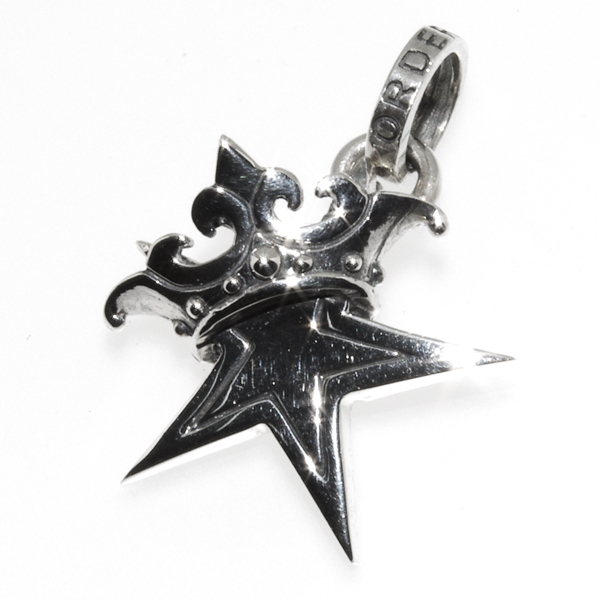 ROYAL ORDER(ロイヤルオーダー) スモールソリッドスターウィズクラウン Small Solid Star w/Crown SP245