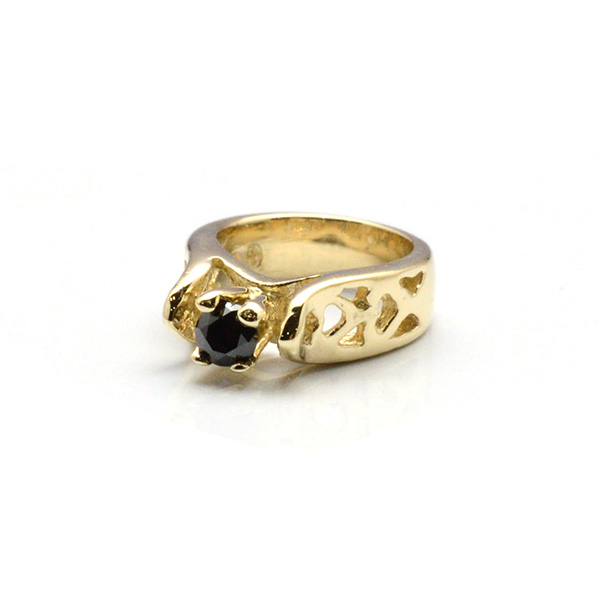 ROYAL ORDER(ロイヤルオーダー) 9KGP220 Tiny Allegra Heart Ring Charm