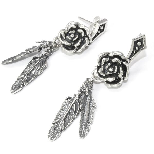ROYAL ORDER(ロイヤルオーダー)  SEDONA ROSE Earring Pair セドナローズイヤリング  【ペア売り】 SE462