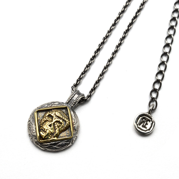 SAHRIVAR (シャフリーバル) SKULL SNAKE NECKLACE SN07S10A