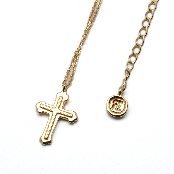 SAHRIVAR (シャフリーバル) Small Cross Necklace SN22S11AG