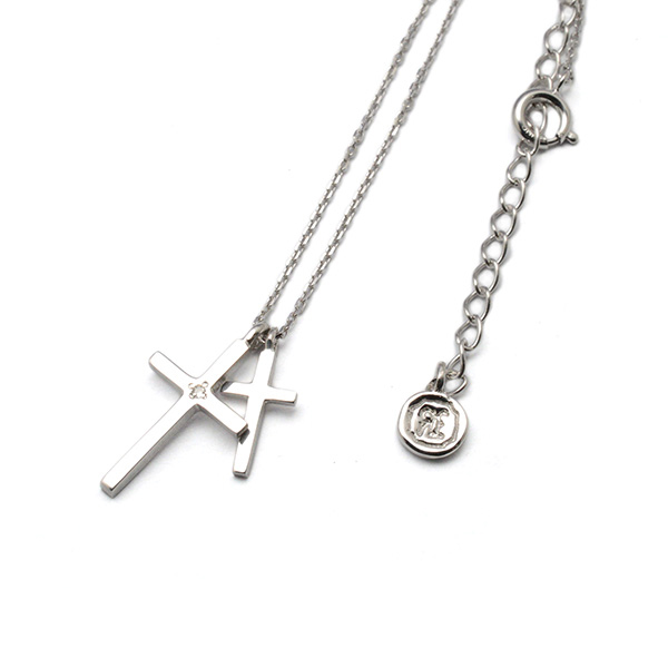 SAHRIVAR (シャフリーバル) W CROSS NECKLACE SN51S14S