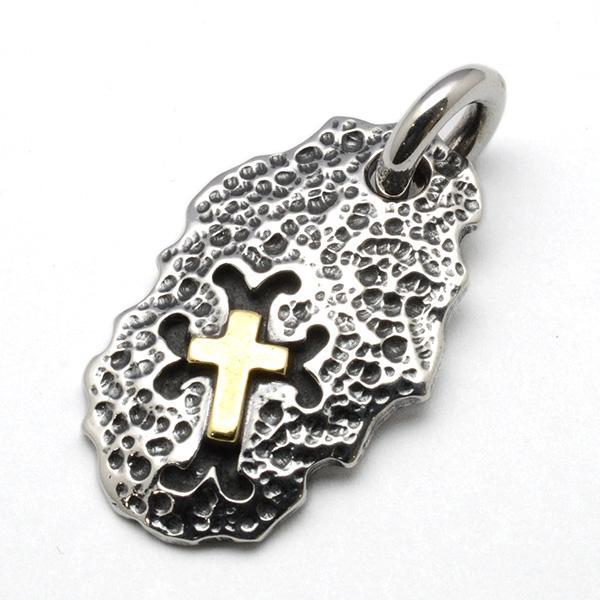 TRAVIS WALKER(トラヴィスワーカー) DTS031 Hammerd Cross/Bronze Dog Tag