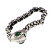 ALEX STREETER(アレックスストリーター) LIZARD KIND BRACELET WITH STONE EYES ALB213