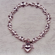 Barbara(バーバラ) ブレスレット Gathering Petit Barbara Iron Cross Bracelet PB-B-303