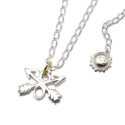 BURNOUT(バーンアウト) Cross Arrows Necklace クロスアローズネックレス E50-13BE