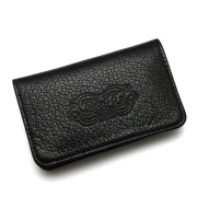 BWL(ビルウォールレザー) W908 BWL Card Wallet Flat Black