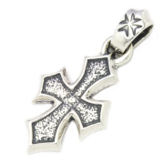 BWL(ビルウォールレザー)  C Cross Maltese Cross Bail Pendant PN843