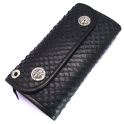 BWL(ビルウォールレザー)  Hybrid Wallet /Snake Anaconda Leather W971