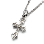 DUB Collection(ダブコレクション)Double face -Cross- Necklace ダブルフェイス - ネックレス DUBj-266-1