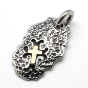 TRAVIS WALKER(トラヴィスワーカー) DTS031 Hammerd Cross/Bronze Dog Tag