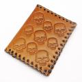 CRAZY PIG DESIGNS(���쥤�����ԥå�) EVILL SKULL CARD CASE/BR